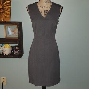 The Limited Stretch V Neck Sleeveless Sheath Dress